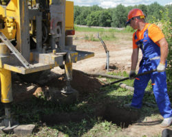 Технология бурения артезианских скважин на воду