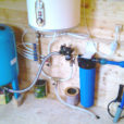 Монтаж водопровода на даче или в частном доме