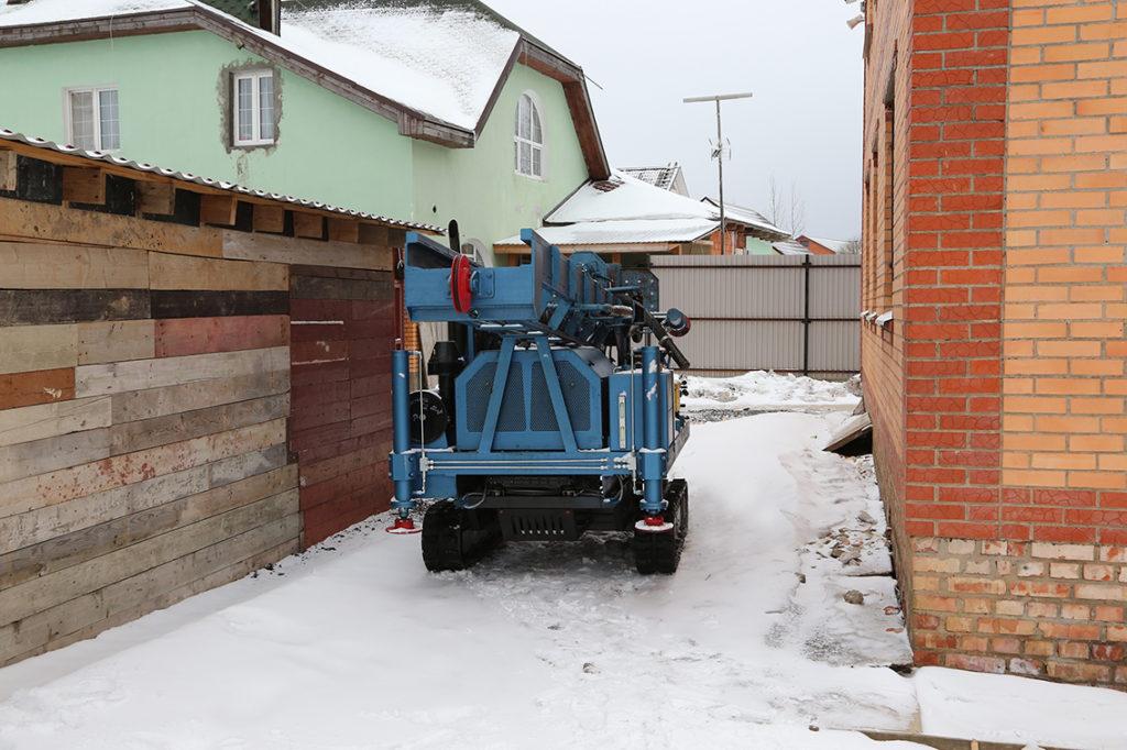 Бурение малогабаритной установкой в Московской области