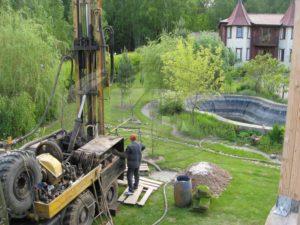 Бурение скважины на воду село Андреевское