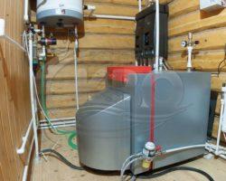 Монтаж котлов отопления в частном доме