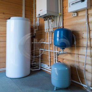 Установка котла отопления в частном доме