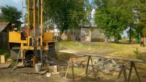 Бурение скважины на воду деревня Бурцево